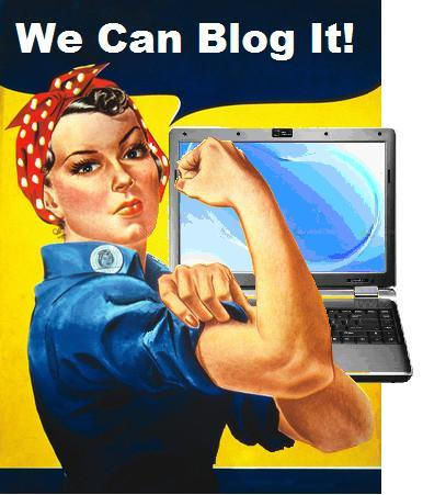 we can blog it