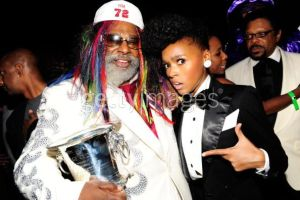 George Clinton and Janelle Monae